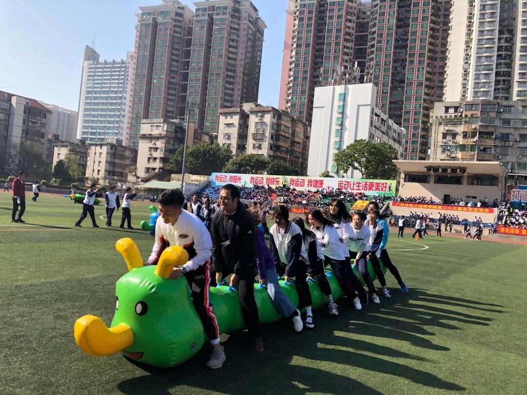 首鸣惊人    精彩纷呈---公共基础首次组队参加系校运会勇夺殊荣