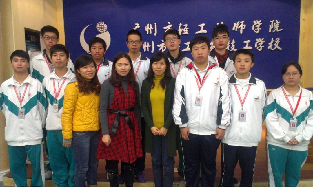 寶潔(廣州)日用品公司來我校與學生座談